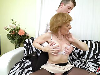 AgedLovE Mature DanaB Hardcore Sex Affair