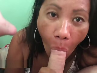 Asian Swallows cum for the first duration