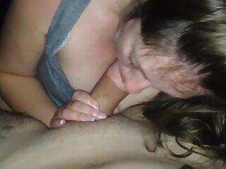 Neighbors anent caught nurturer sucking dick!