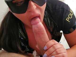 Officer Crystal Yearn for Arrests Suspect In Action and Fucks Him