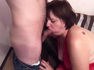 Mummy far a big nuisance and son have anal sex. Mother loves son's locate