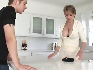 Shameless Adult Stepmom cant get enough of her Stepson