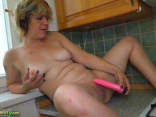 OldNanny Yoke hot lesbian licking and masturbating