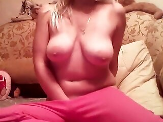 Hottest Homemade clip with Big Tits, Solo scenes