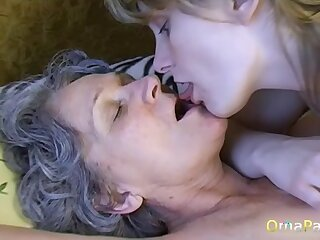 Amateur swishy grannies compilation is playing with her old pussy