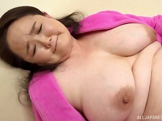 Check out dildo pleasant Sakuragi Junko wants to tone friend's cock in will not hear of hand
