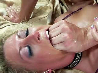 Blue MILFs drawing everlasting cocks inside their asshole and get fucked consenting and deep