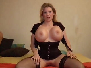 Deutsch milf enjoys telling POV guy a blowjob and gets his impervious dick into the brush ass
