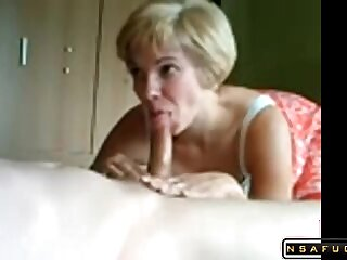 Horny French wife Laurence shafting avec Thierry
