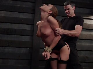 Obedient MILF receives harsh treatments for both say no to love holes