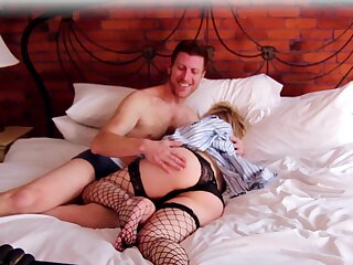 Milf gets will not hear of tiny holes pumped in a complete domicile play