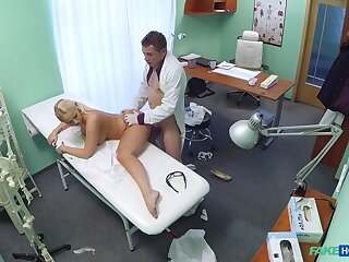 Lilith's shocking hardcore dicking in advance doctor's office