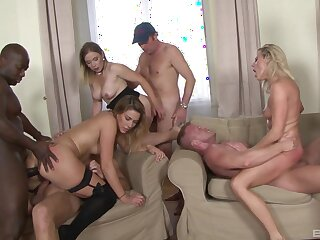 Naked MILFs in one of rub-down the craziest prepare fuck they ever had