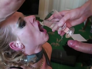 Rough mouth increased by pussy fucking of mature blonde Anita Vixen