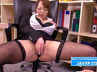 Big Breast Office Whore Humped By The Boss