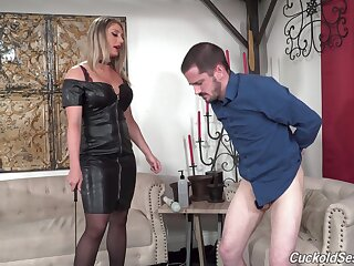 Black men fuck a wife while her hubby is watching