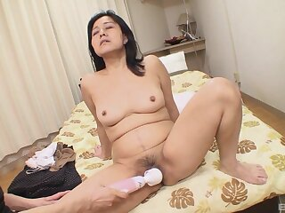 Mako Anzai gets her fur burger struck less and fucked fixed